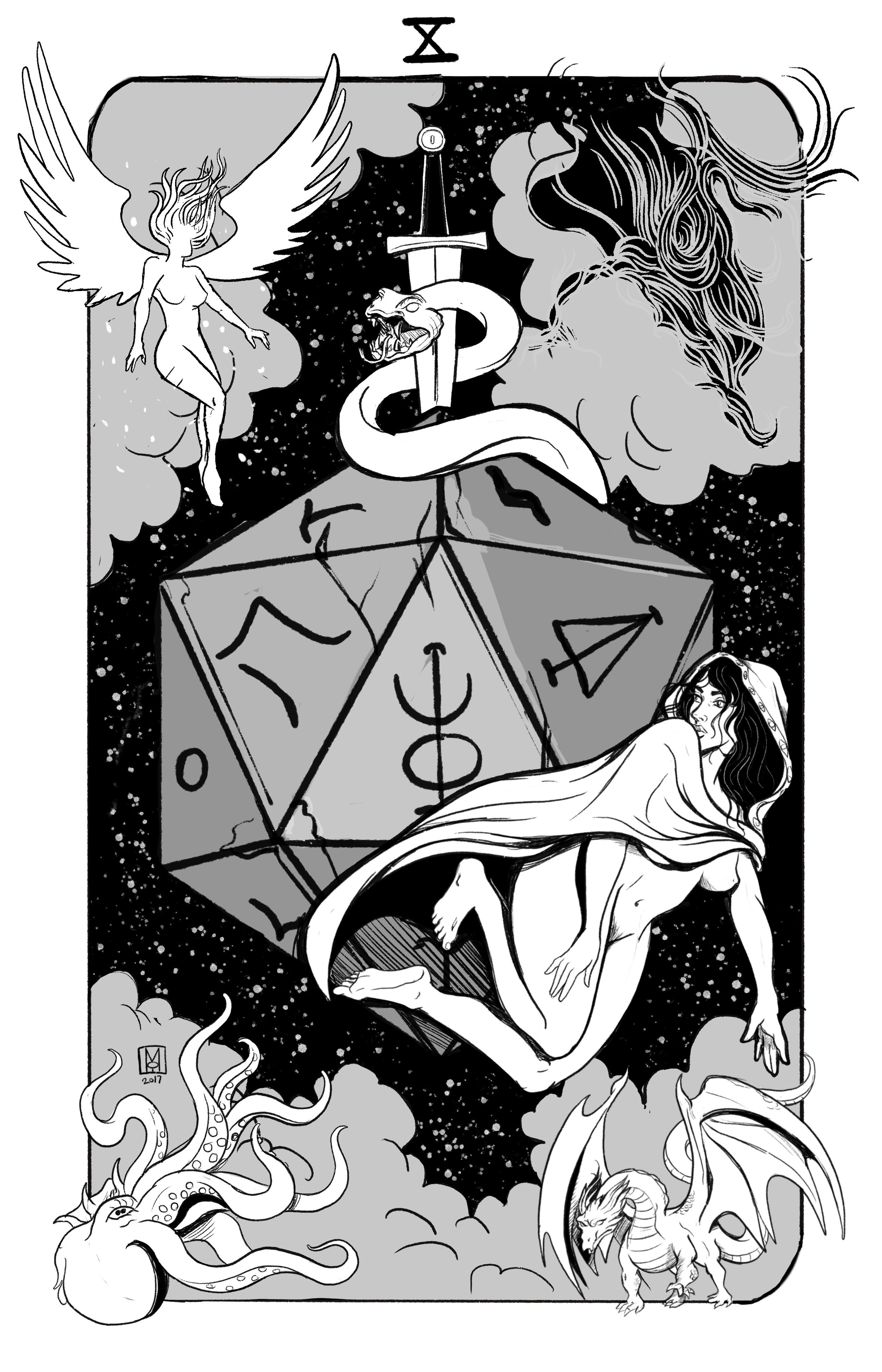 Major Arcana X: Wheel of Fortune