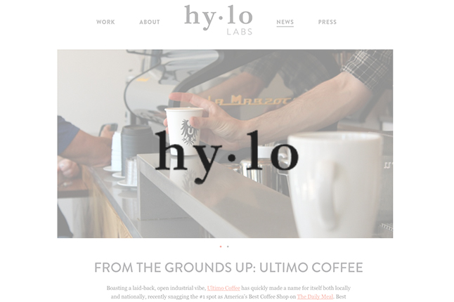 HyLo article // From The Grounds Up