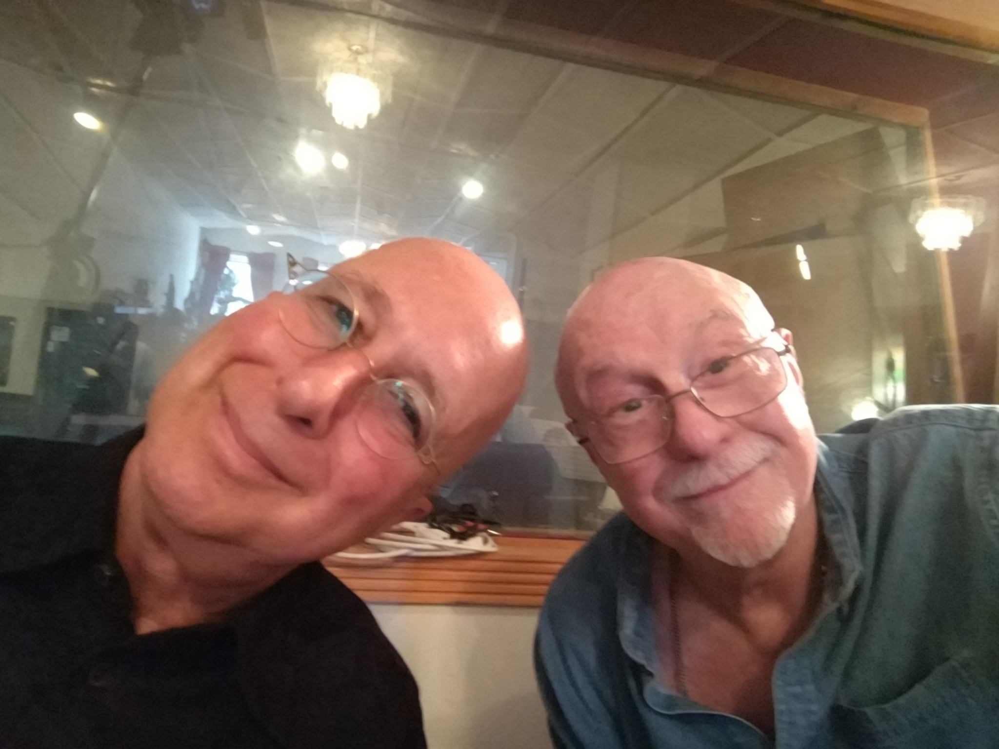 Paul Shaffer and Pete Levin