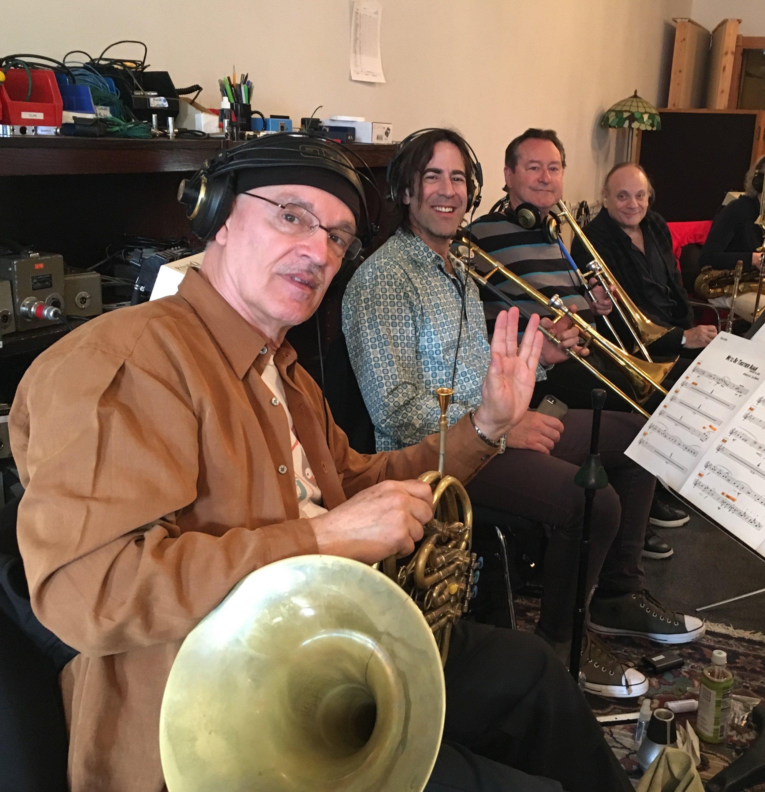 John Clark, Dan Levine, Tom Malone, Dave Taylor! Bones for life.
