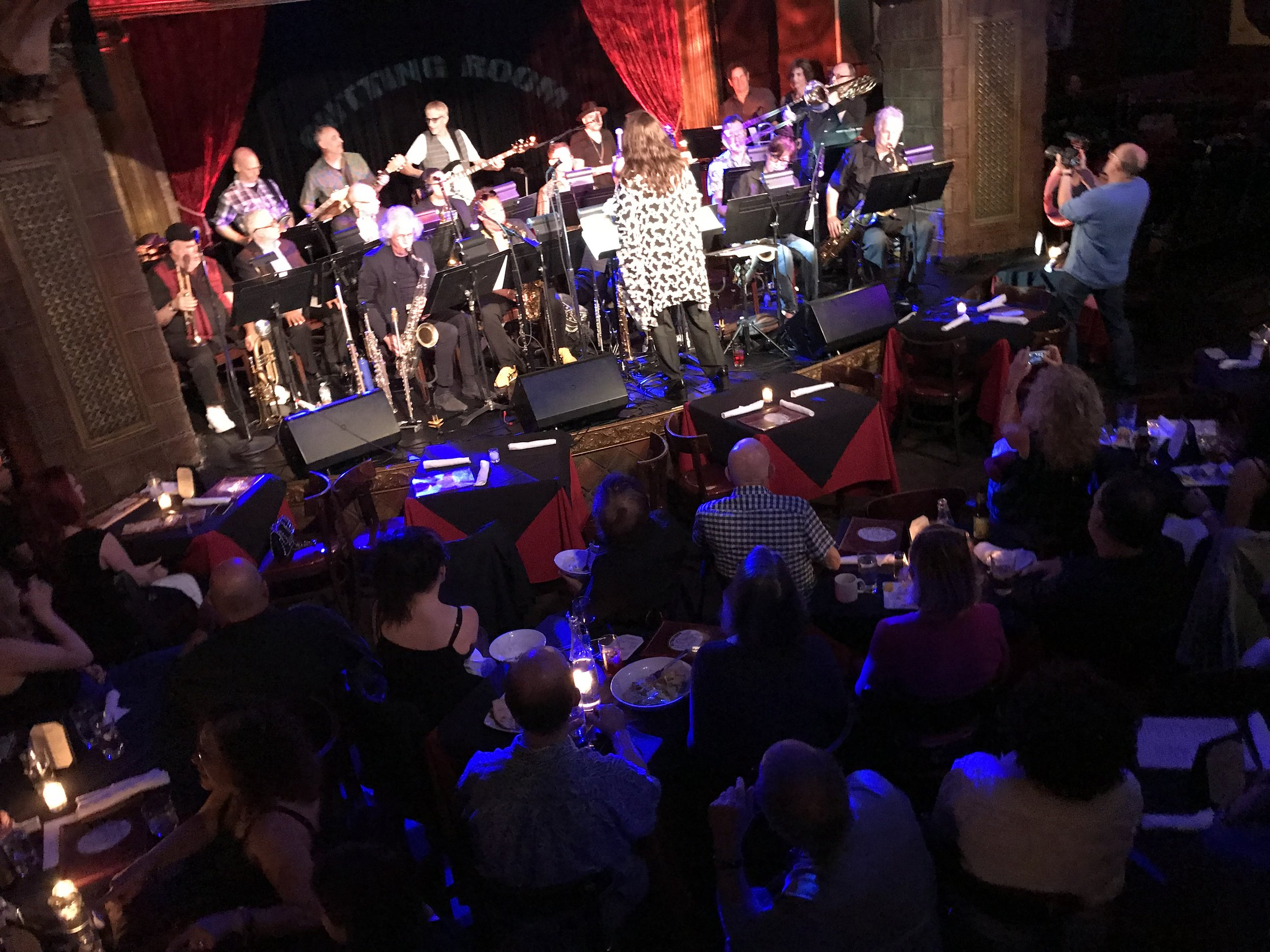 Playing at The Cutting Room!