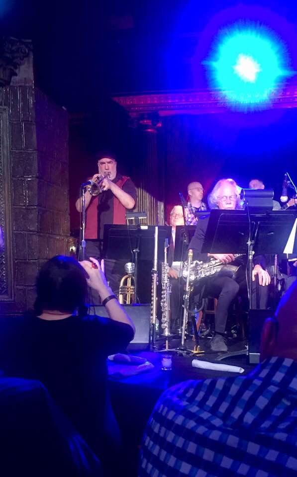 Randy Brecker soloing
