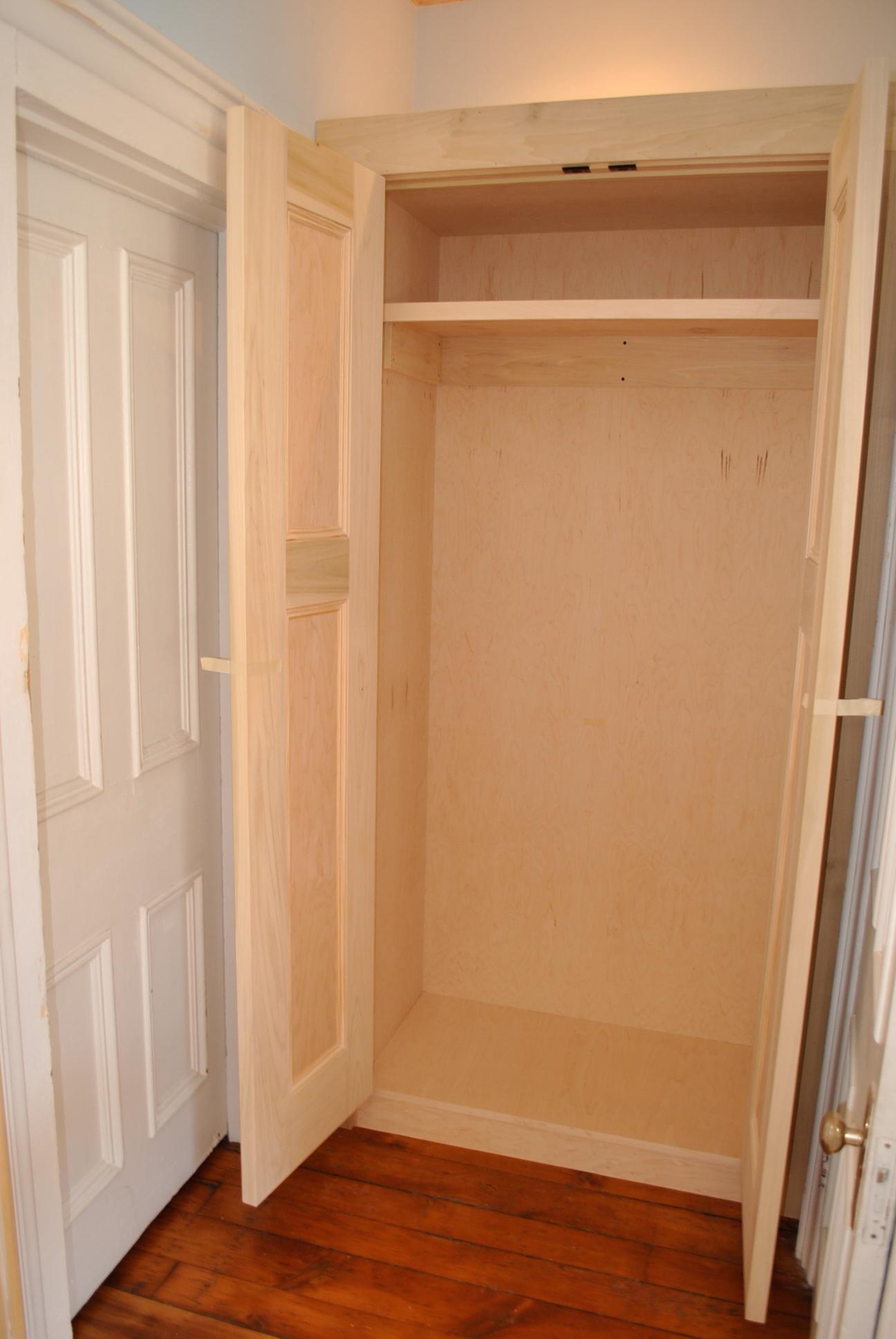 Inside of closet.