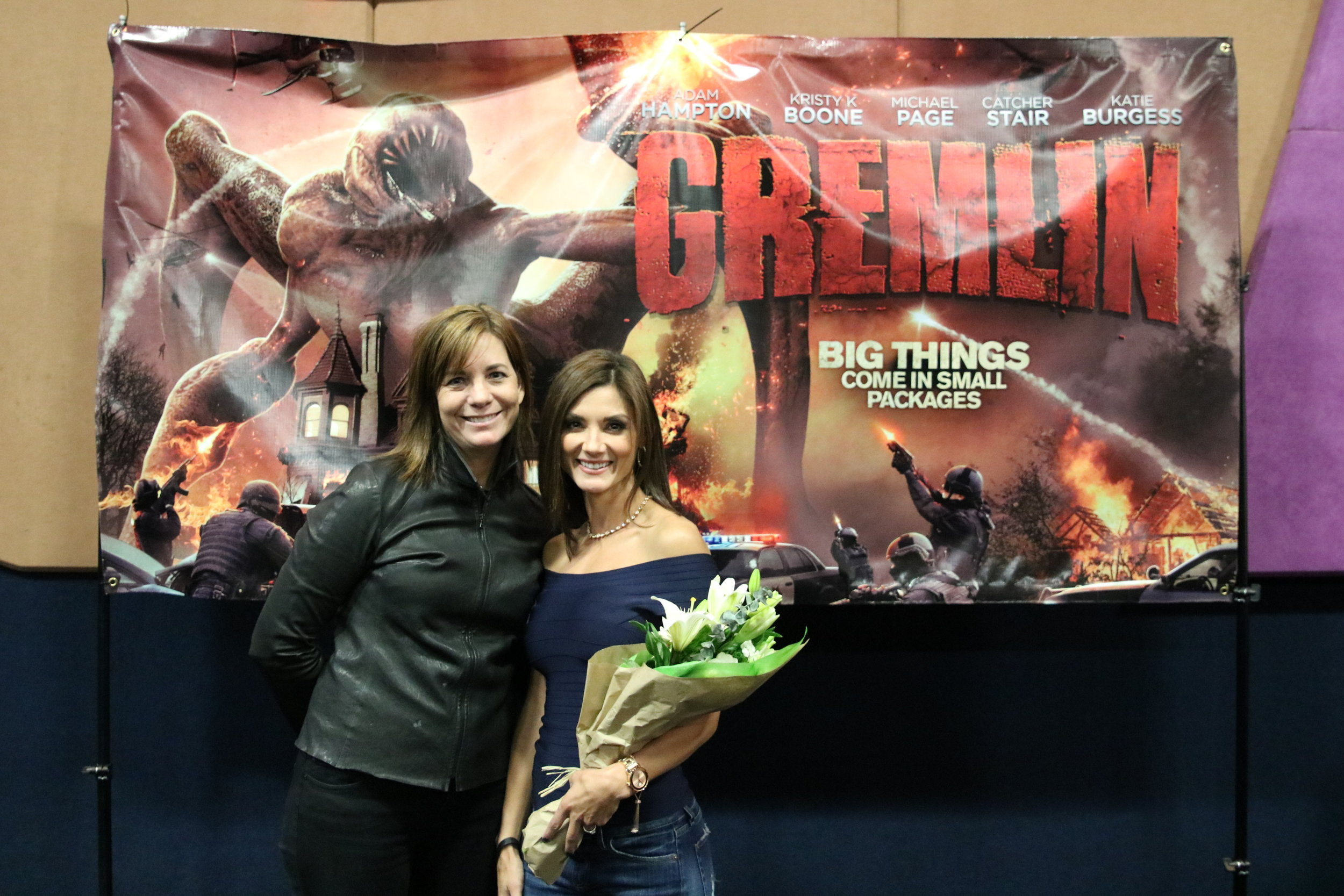 with Stephanie Timmermeyer, she was almost as excited to see this film as I was! I truly consider her one of my greatest fans. (Haha ;))