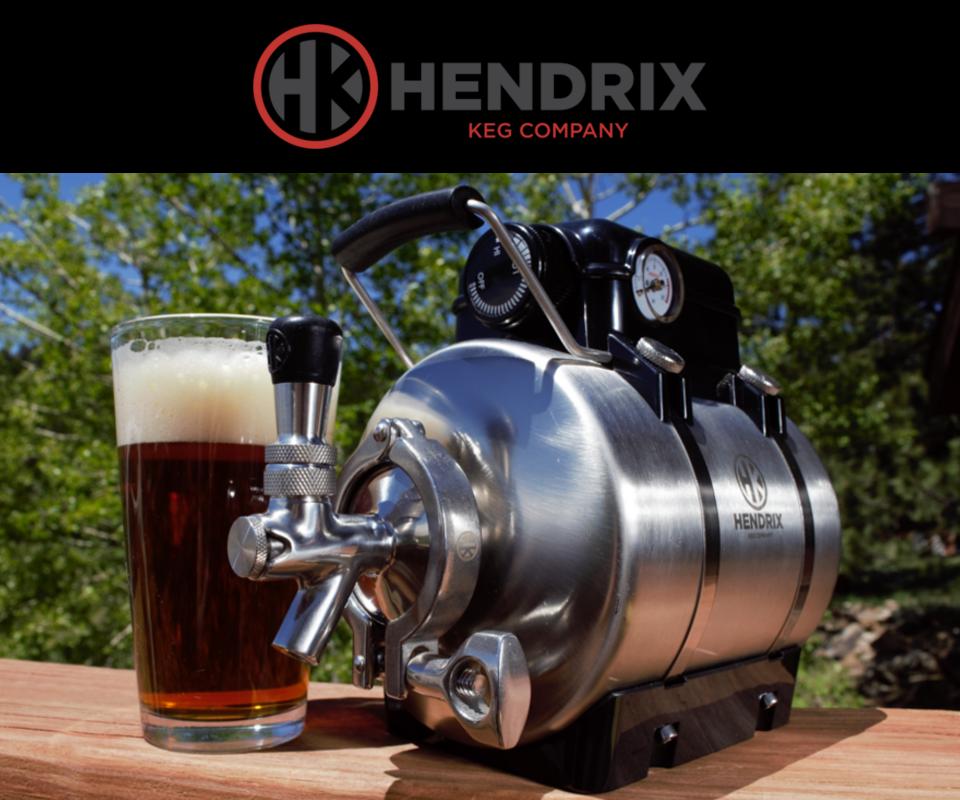 Stainless steel personal keg