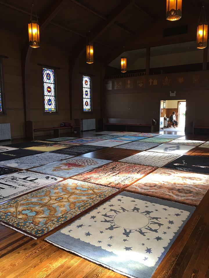 the  Sanctuary exhibit  organized by the for-site foundation at the Fort Mason Chapel.  October 07, 2017 – March 11, 2018.