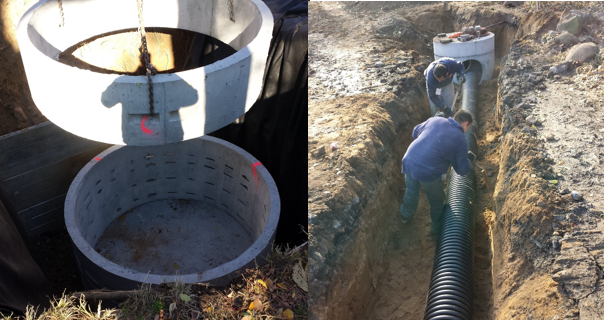 Much of the work accomplished for this capital project is below the ground.