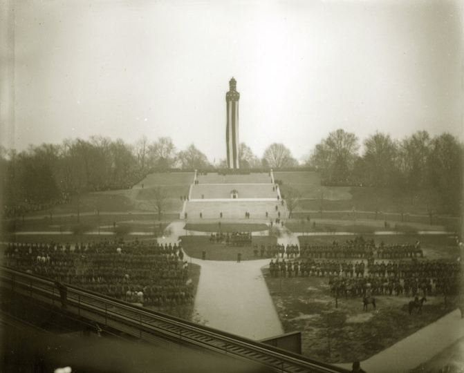 `1908 Dedication for McKim, Mead, and White's  Prison Ship Martyrs Monument