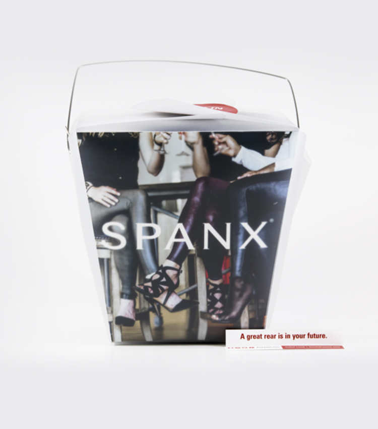 SPANX, Promotional Packaging Design