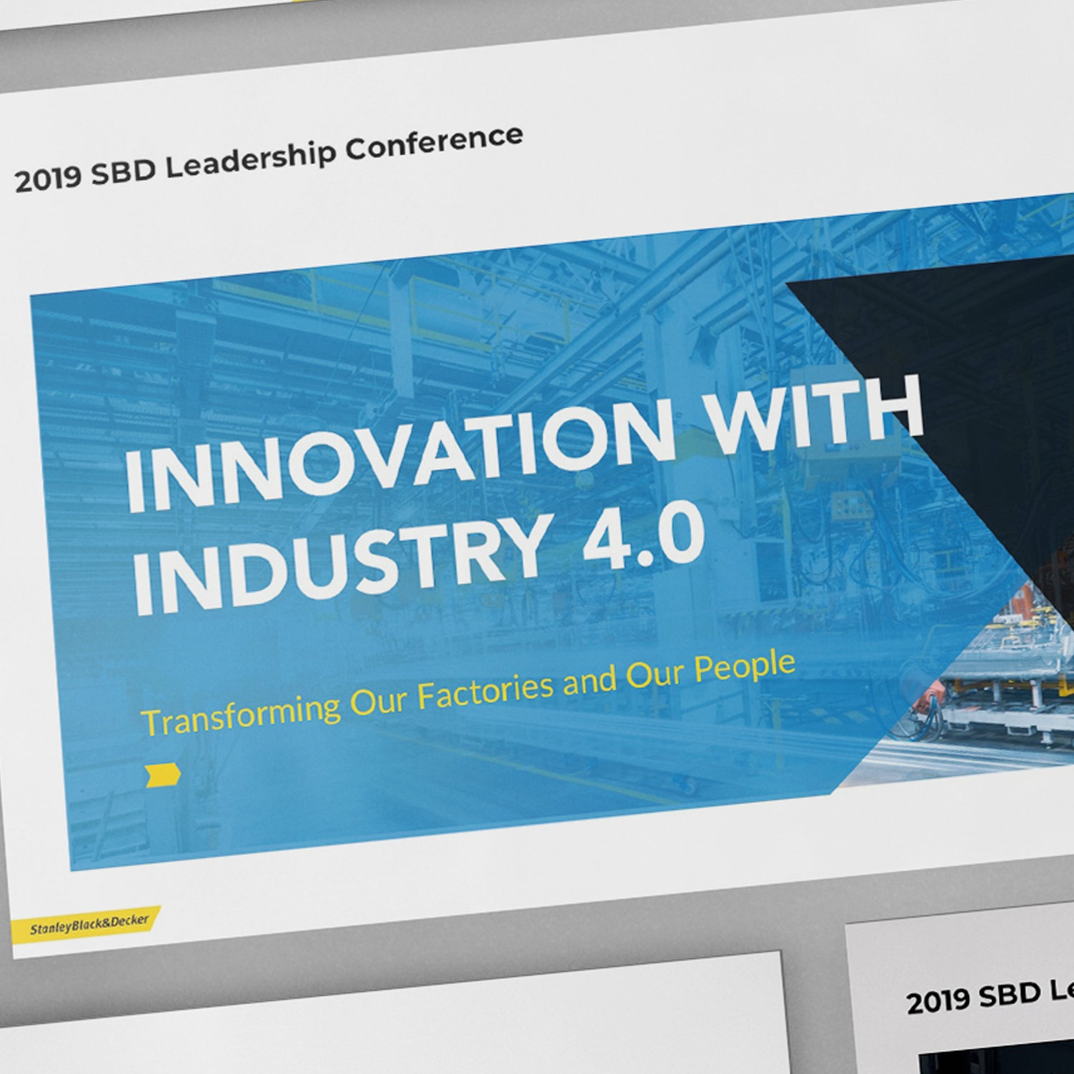 Stanley Black and Decker Leadership Presentation