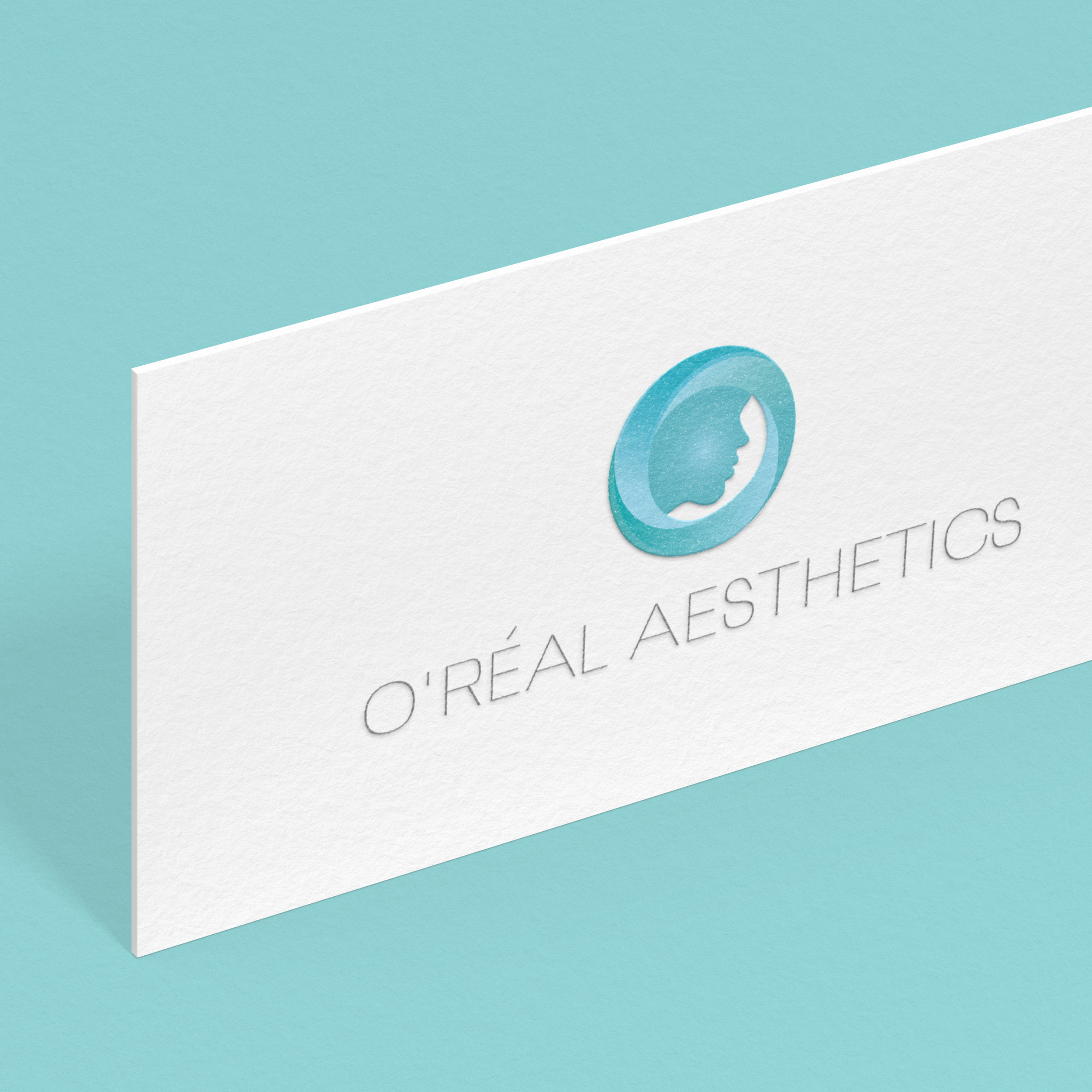 O'Real Aesthetics Logo Design