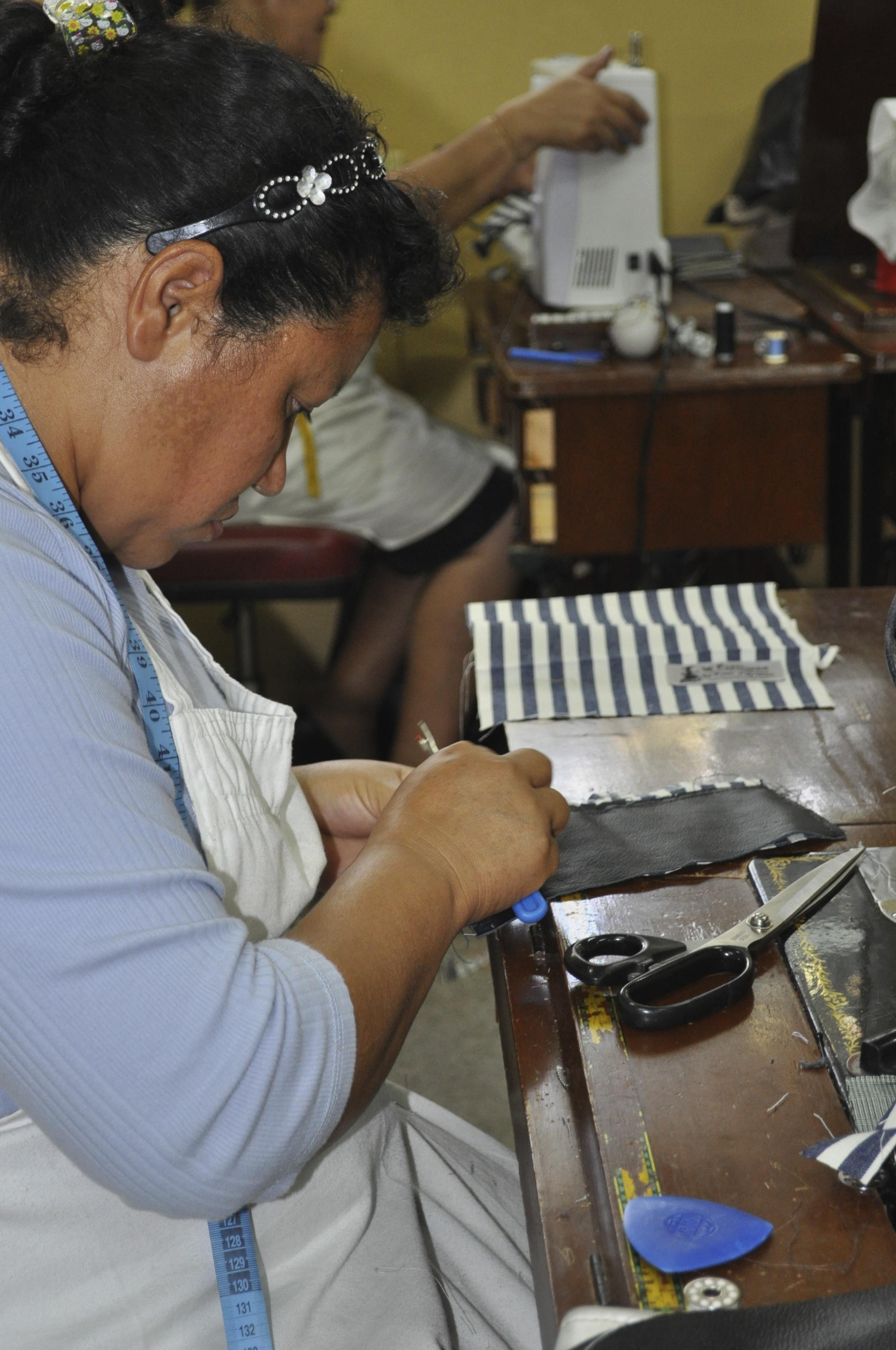 working on Mi Esperanza products 2011