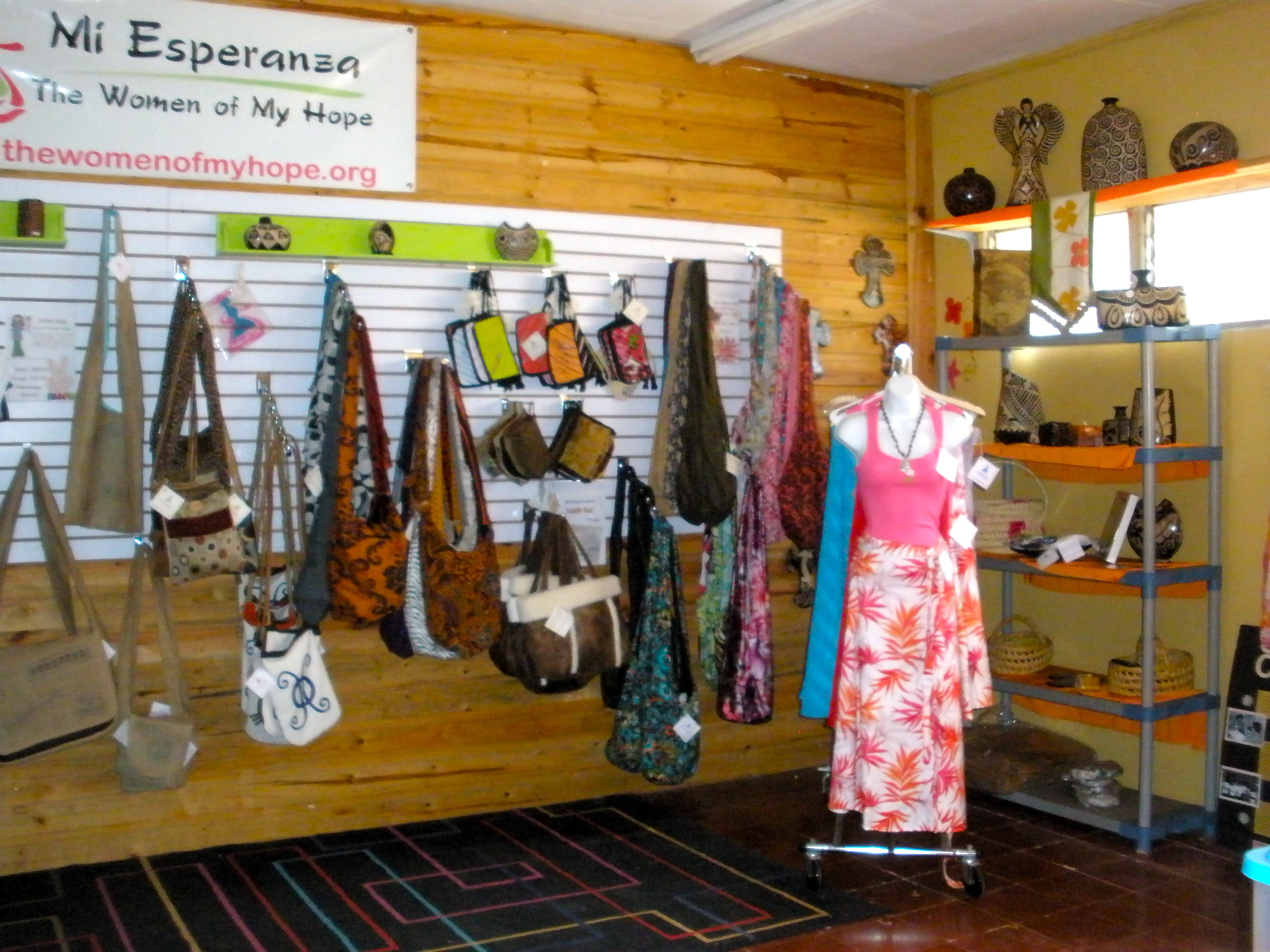 PURCHASE WITH A PURPOSE at the Mi Esperanza store.