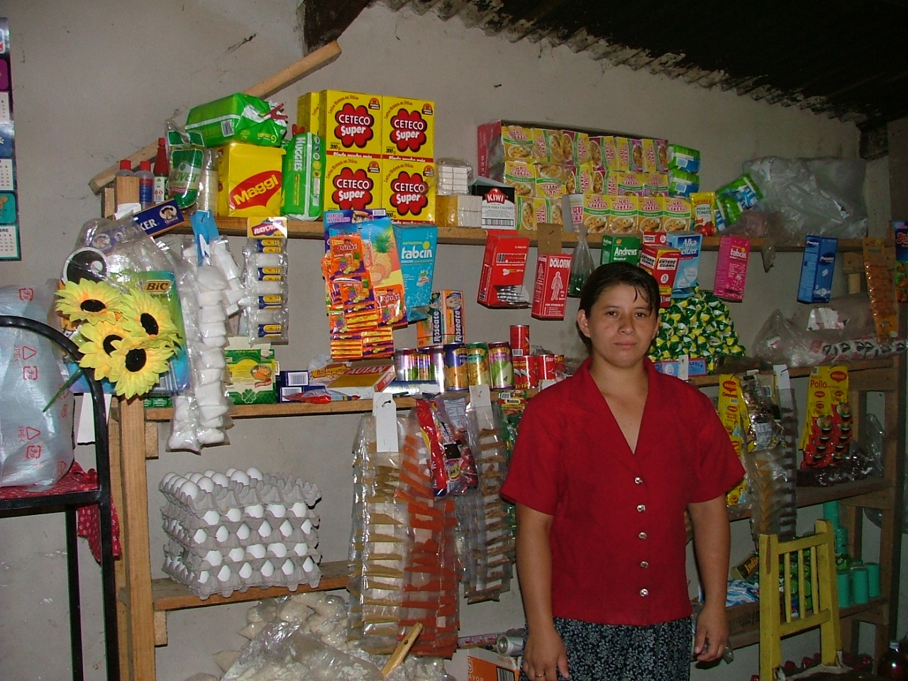 Maria in her store