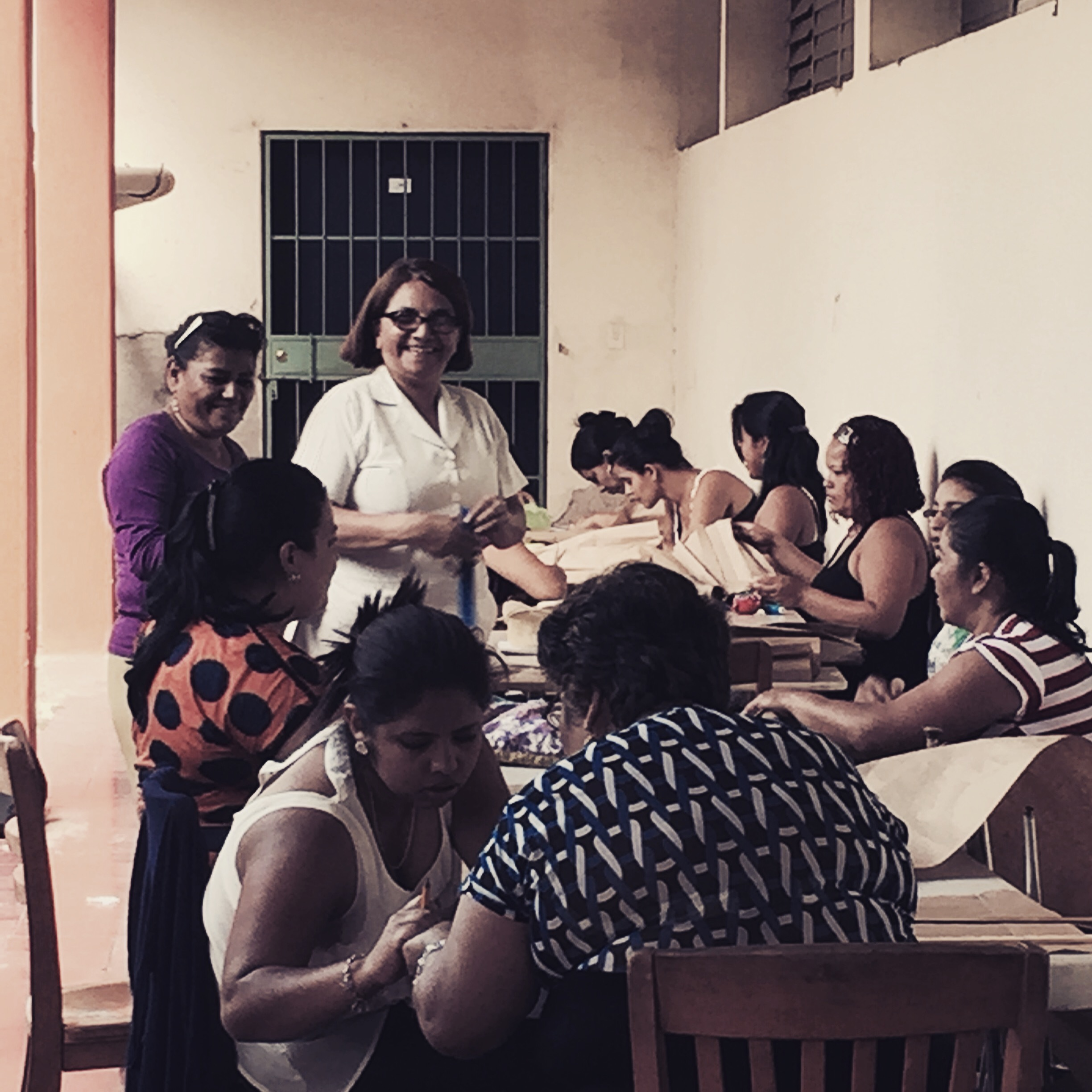 Sewing class @ our city center location. Fall 2015