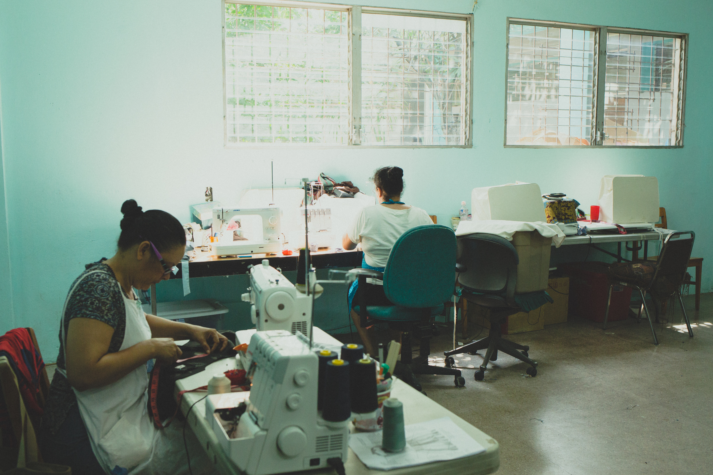 City center sewing classroom