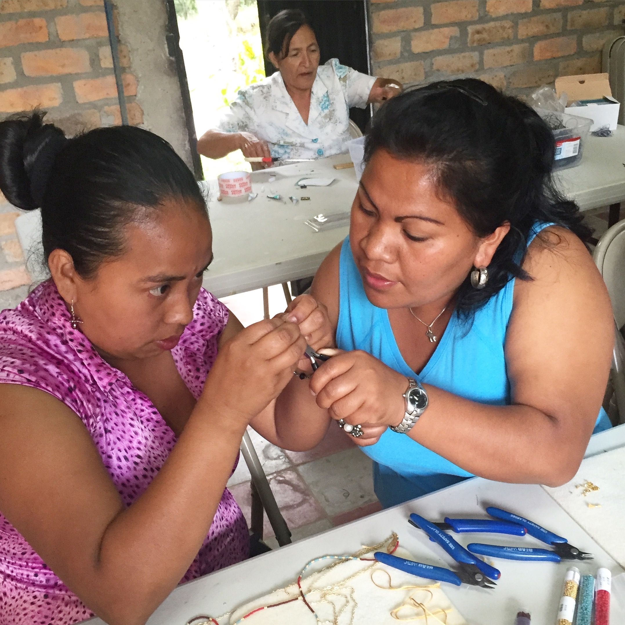 two sisters who have found hope and purpose through jewelry design.