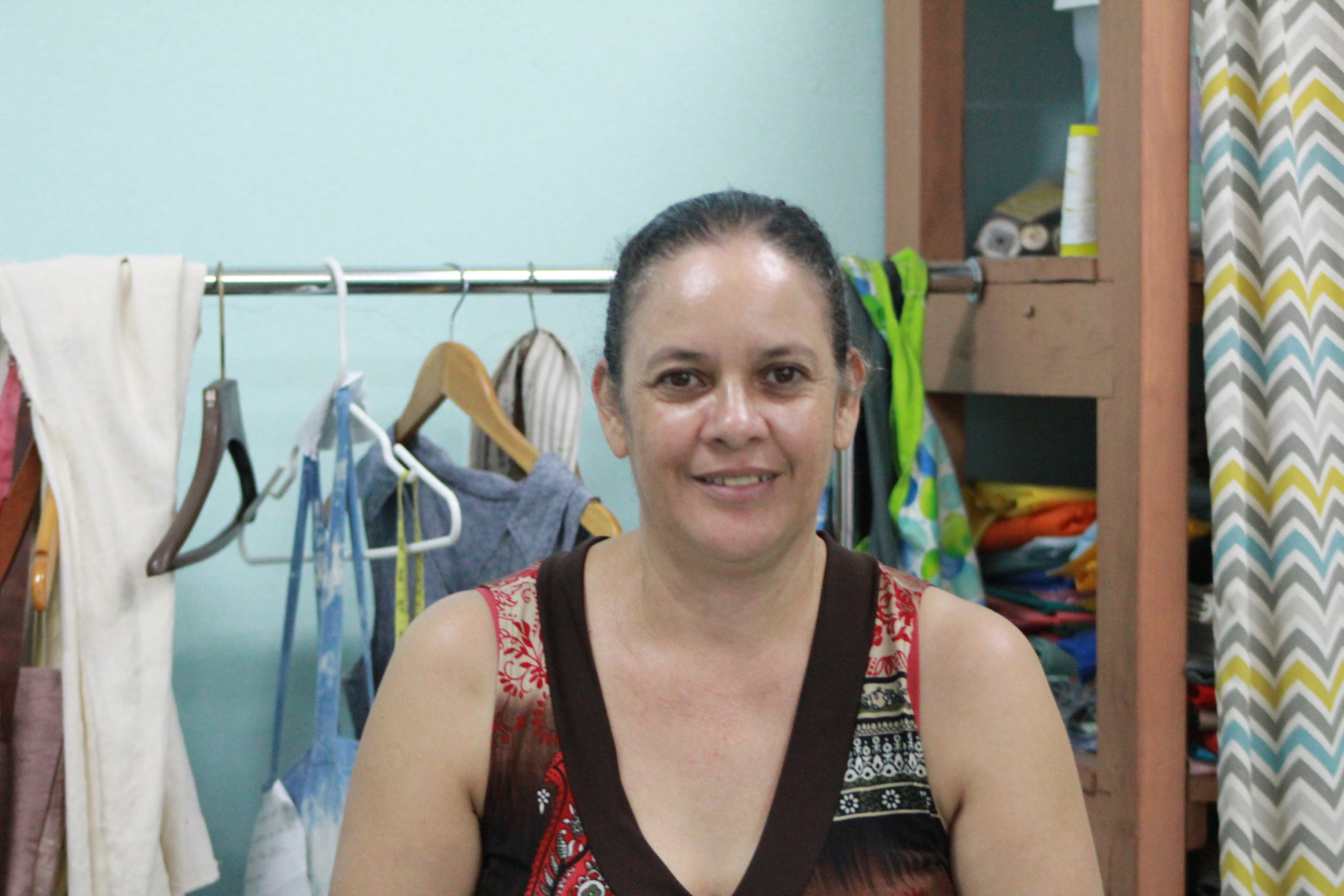 Reina Viera, Maquilla Manager, Sewing Instructor