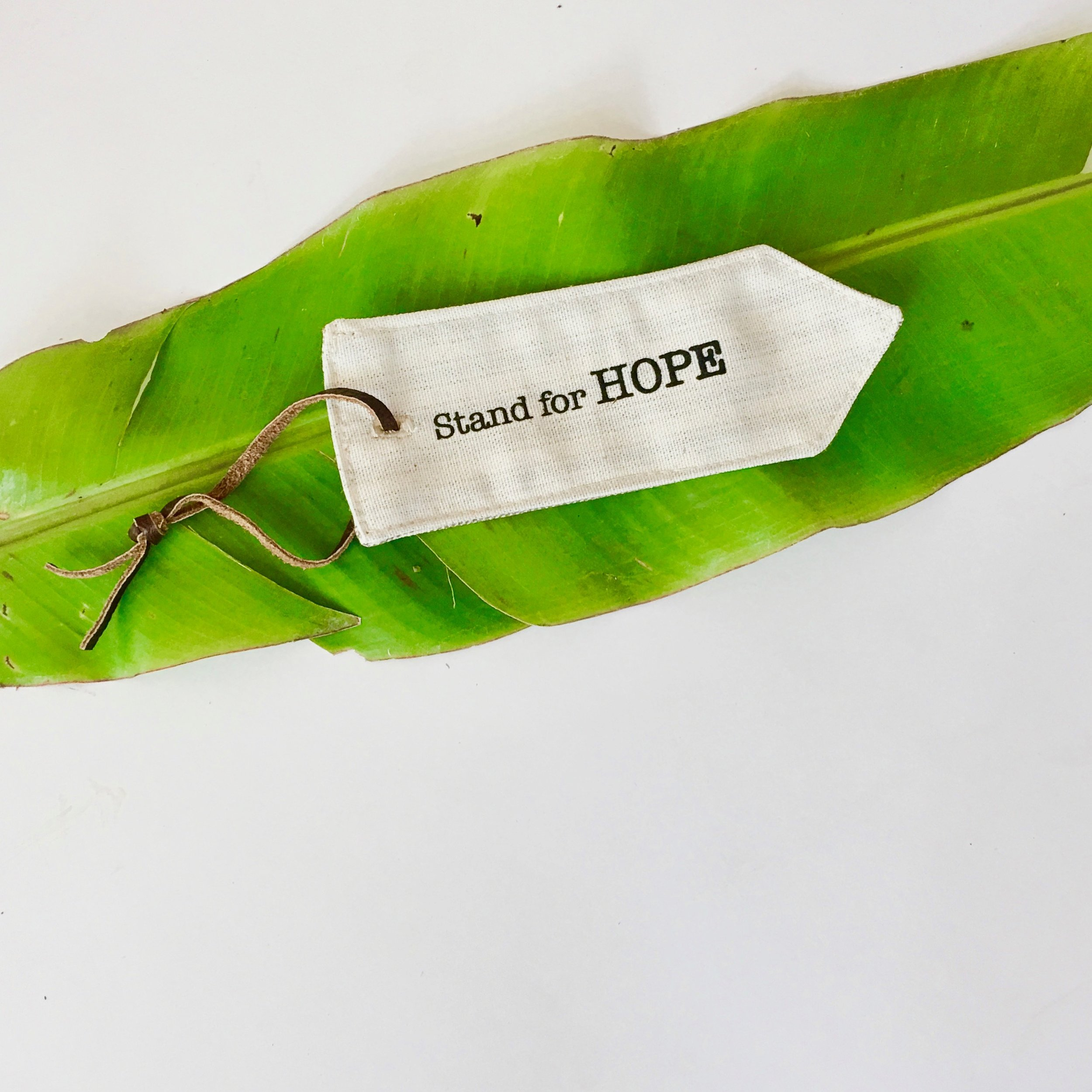 Summer Campaign take away hand-made book mark (on-line in September)