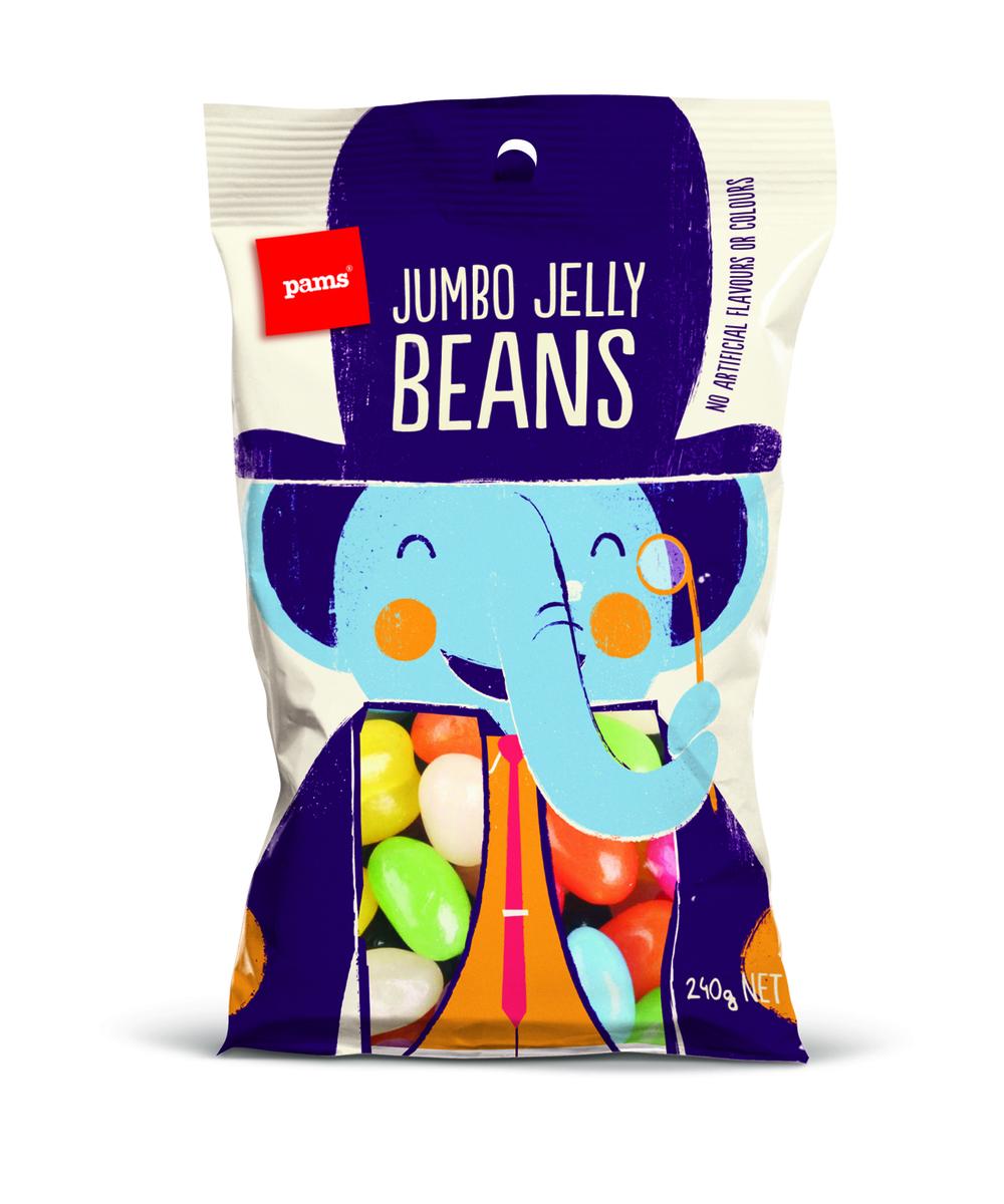 Jumbo Jelly Beans