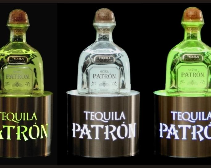 Patron Bottle Glorifiers Round Stainless Steel Set of 3.jpg