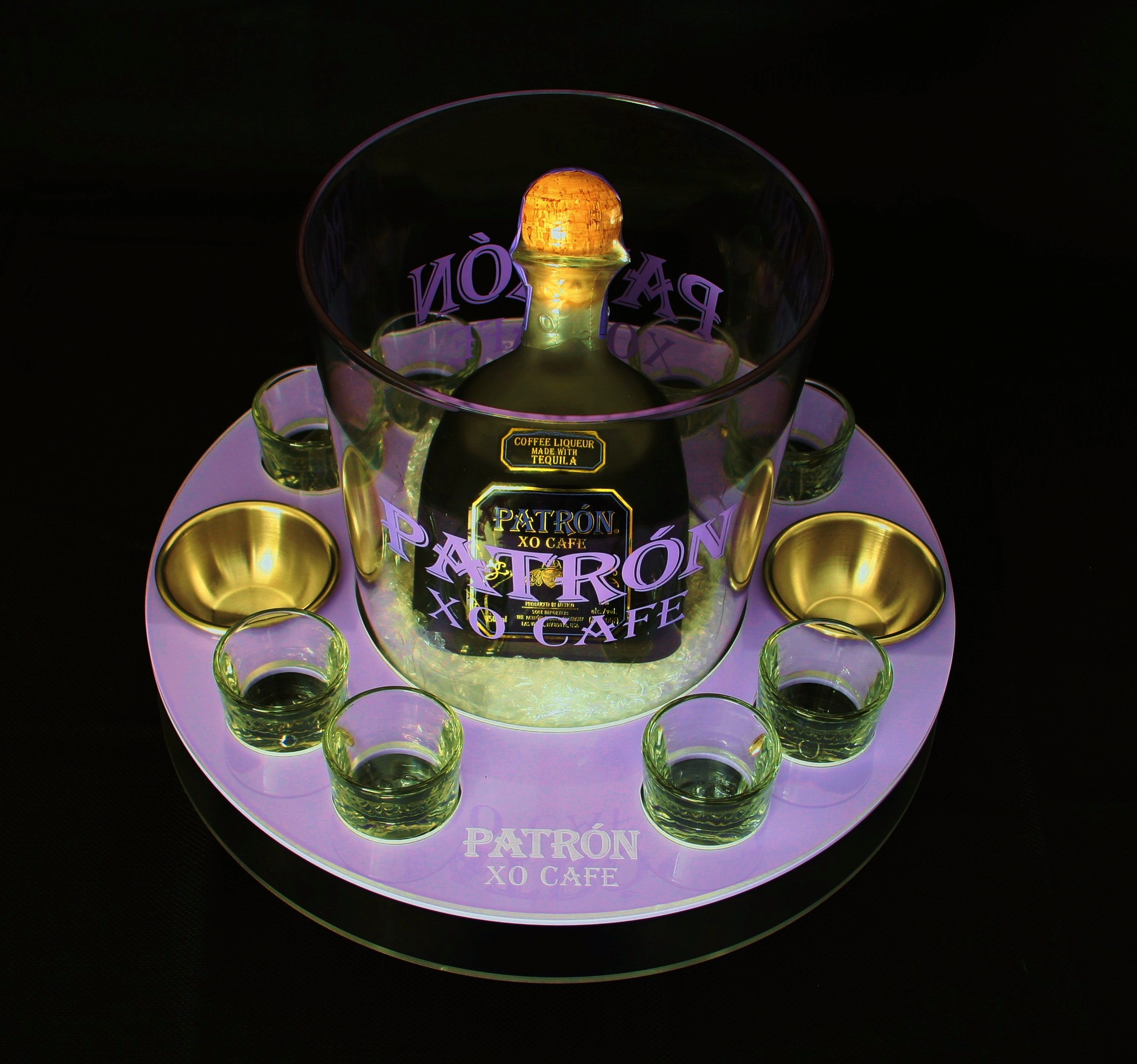 Patron XO Cafe BS Bucket Shots Purple Acrylic.JPG