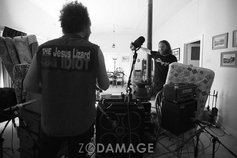 21 March 2016 Matt and Max – Tankerville recording session Watermill Farm
