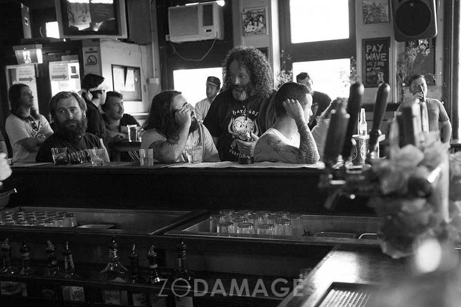 Slayer, Thomy [Batpiss] & Tim [ BØG] – Filthfest 2016 © Zo Damage
