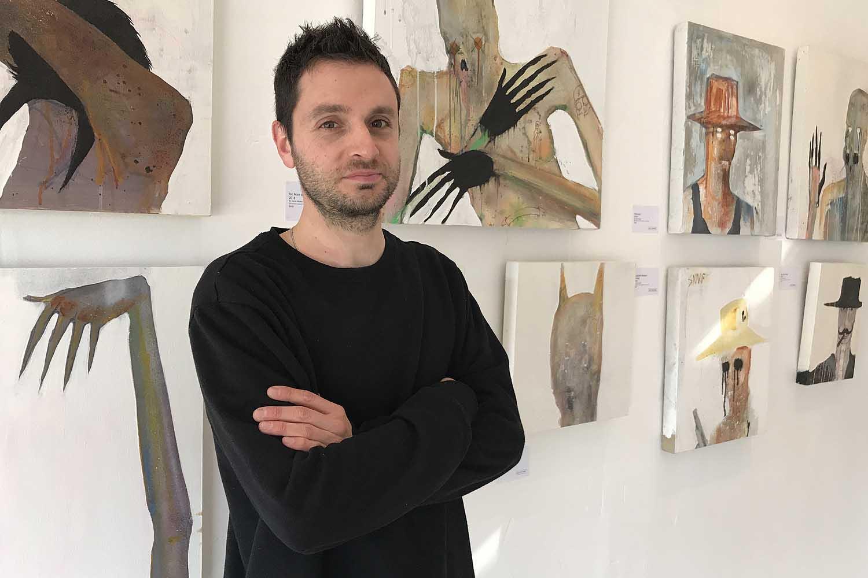 Julian Medor exhibition at Zo Damage