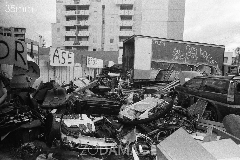 Preston Junkyard © Zo Damage