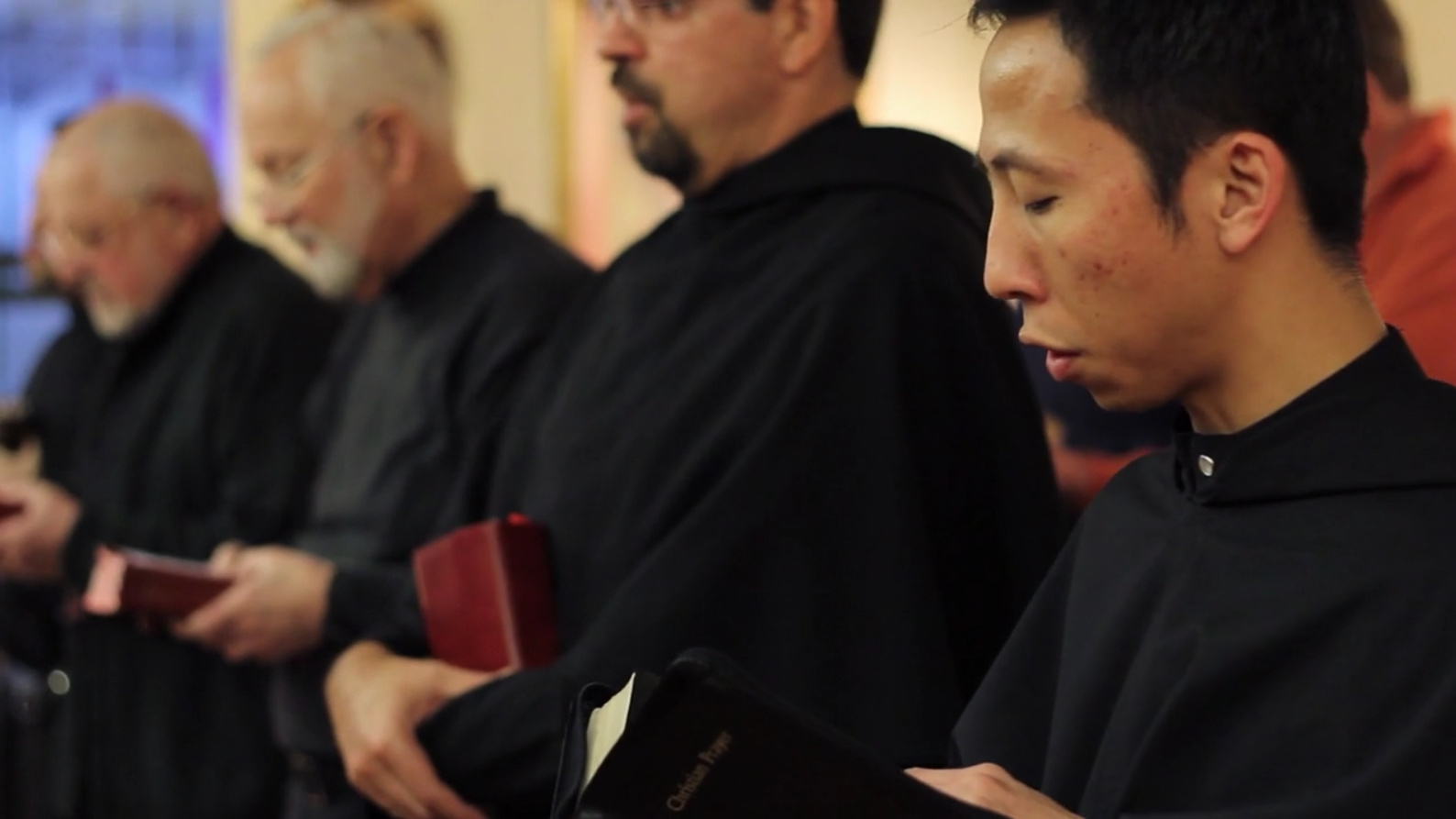 Augustinians share in daily prayer in each community, including at St. Augustine Friary in Chicago, as seen above.