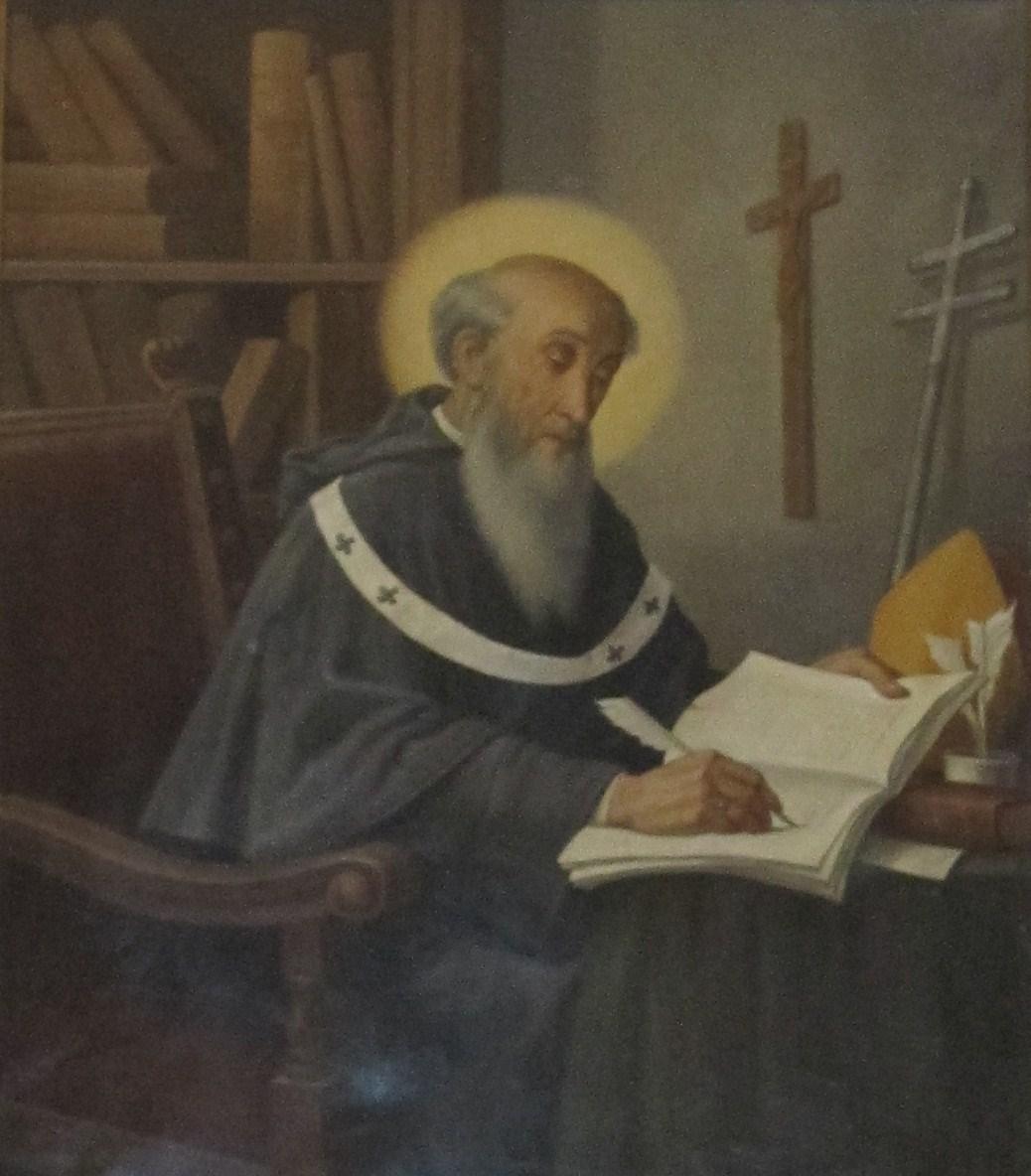James of Viterbo, picture 17th century, Church Ss.Trinità, Viterbo