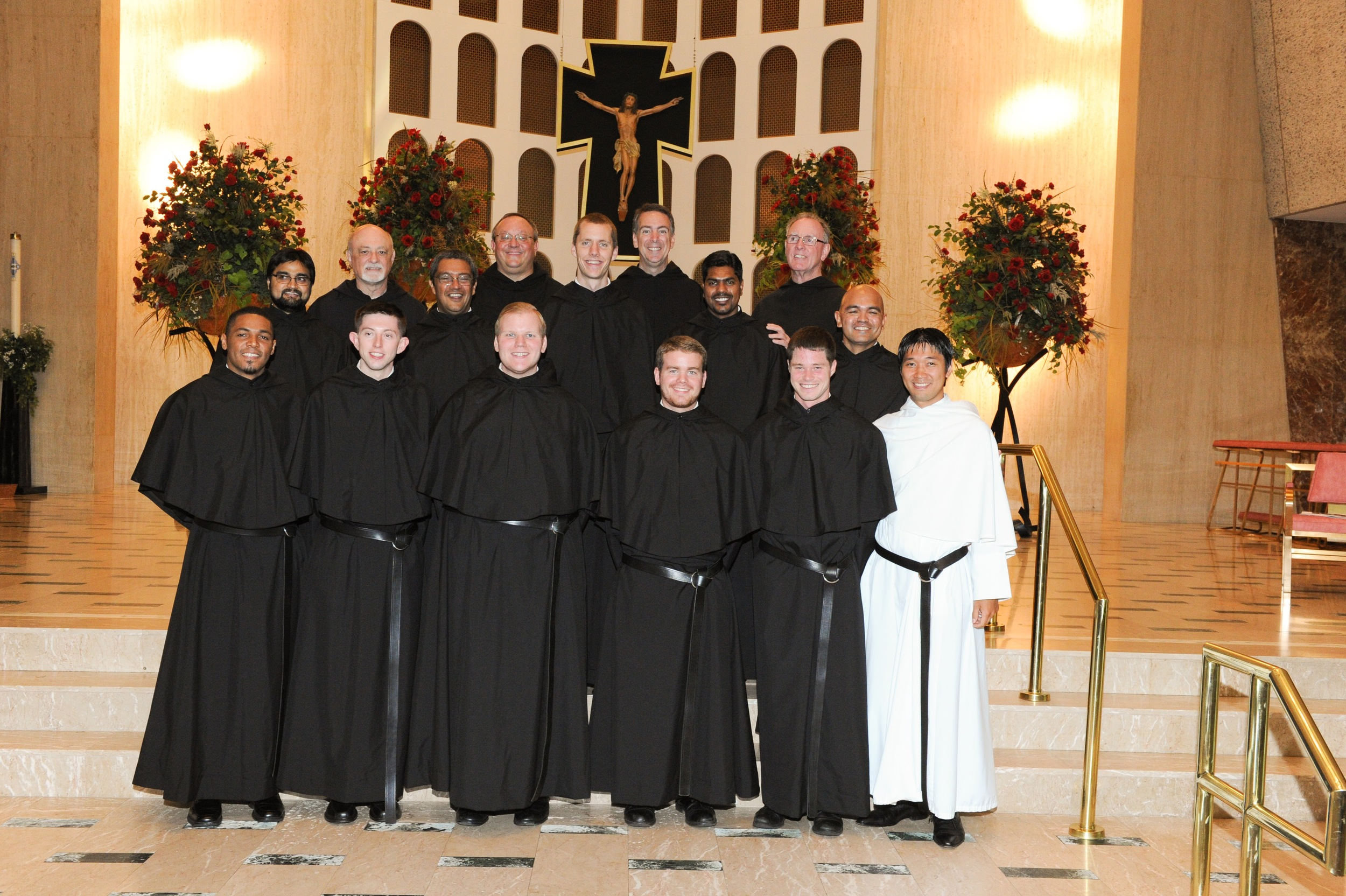Eleven Novices professed their first vows in the Augustinian Order in 2016, the largest group in over 40 years.