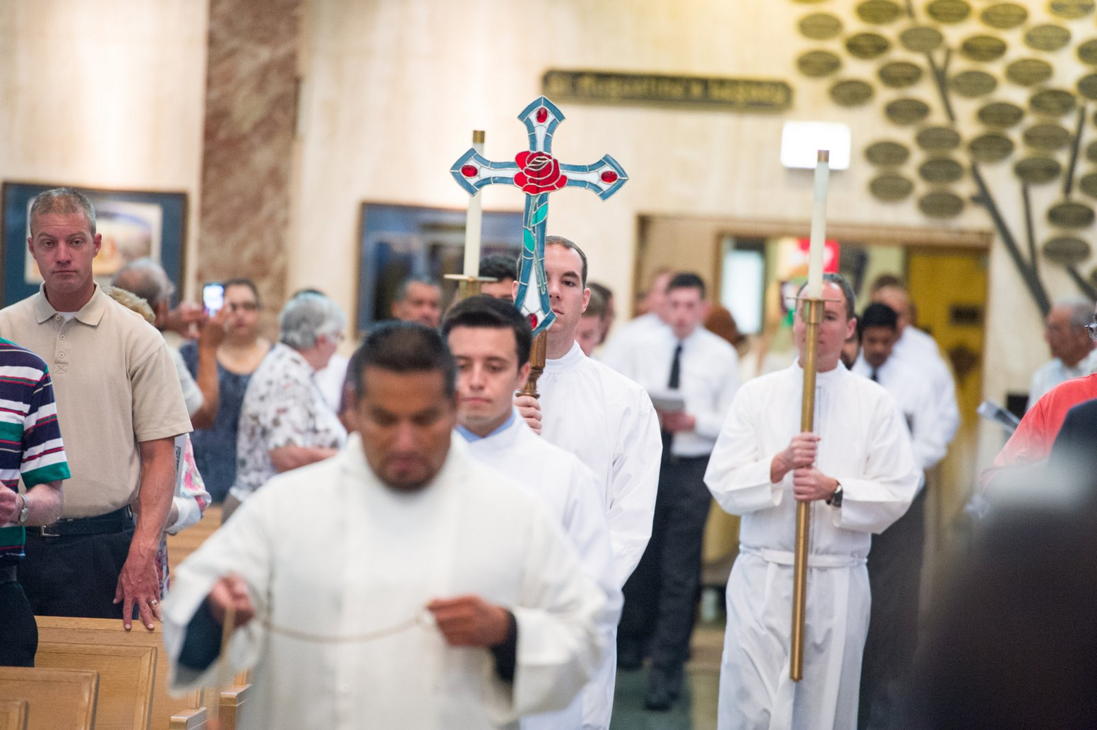 Processing into St. Rita of Cascia Shrine Chapel, Chicago