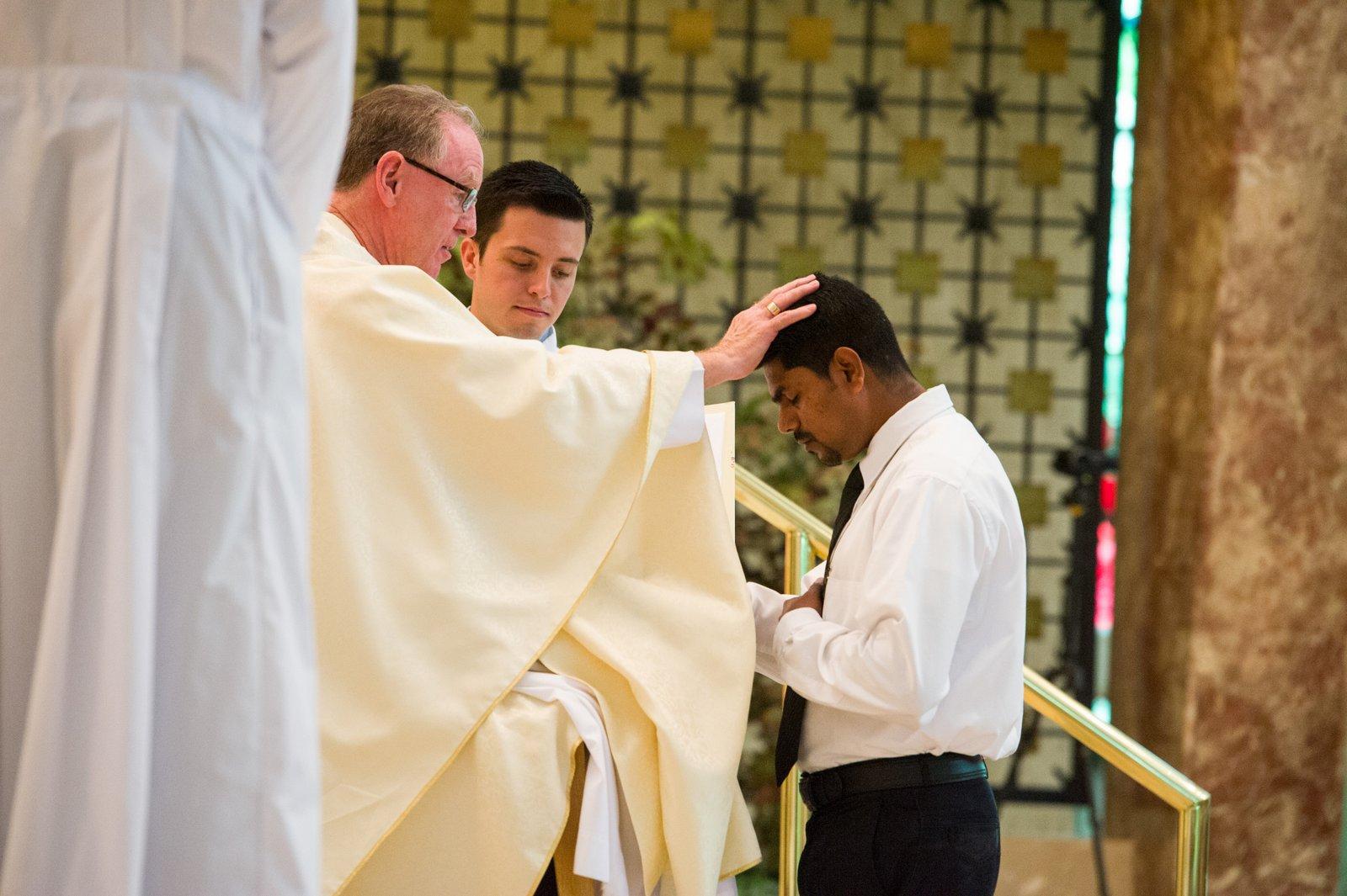 Sarfraz Alam professes his first vows