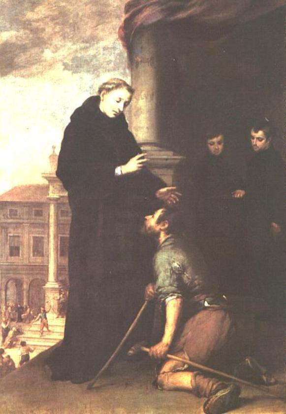 Saint Thomas of Villanova heals the sick