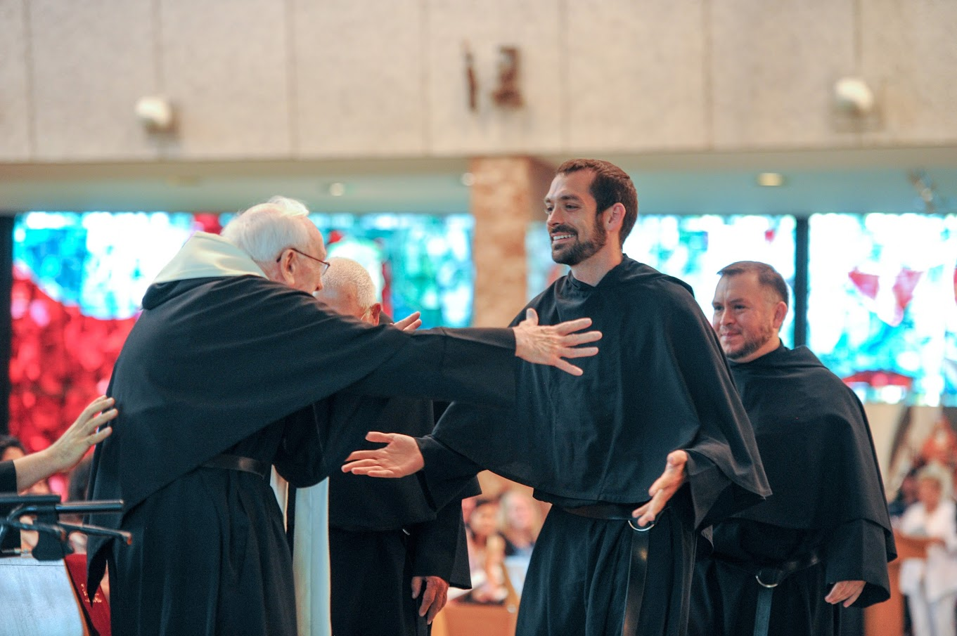 Br. Stephen Isley at his Solemn Profession of Vows on the Feast of St. Augustine 2016