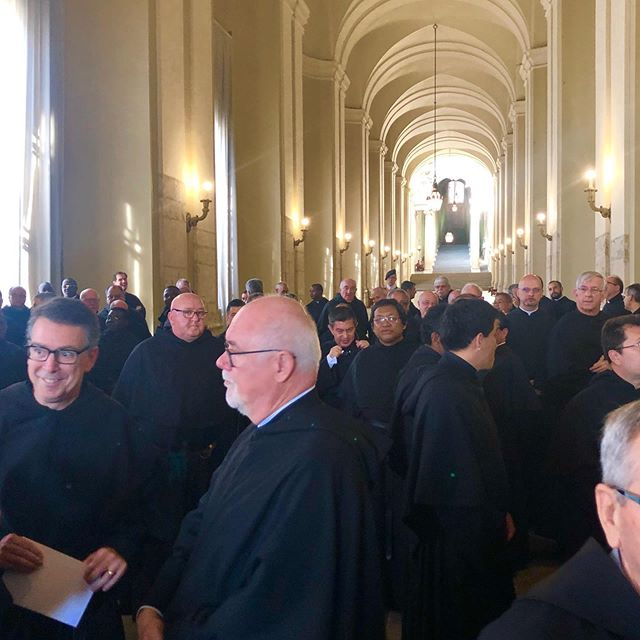Augustinians wait in the Apostolic Palace #augustinians #vatican #vaticano #catholic #christian #priests #love