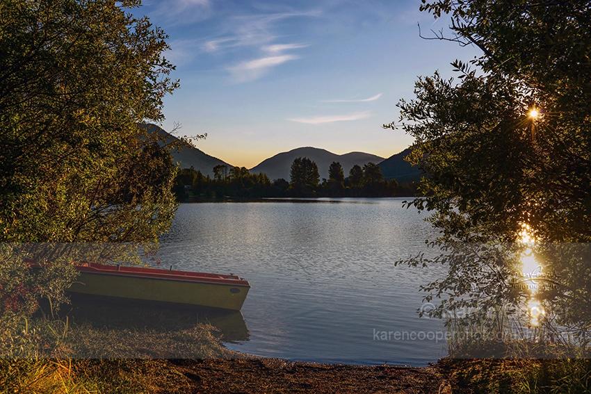 """""""Sunrise on Kelly Lake"""""""