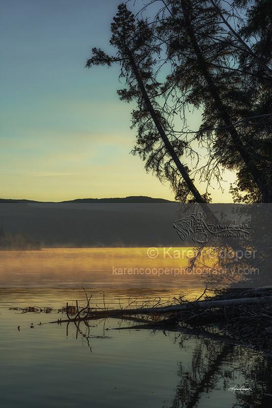 """""""Sunrise on One-Eyed Lake"""""""