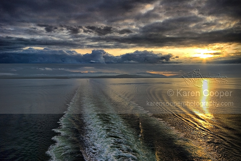 """Ferry Wake"""