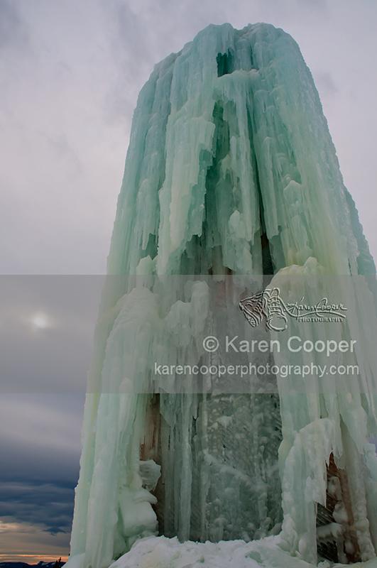 """Ice Tower"""