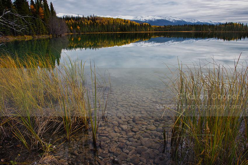 """Mountain Views from Boya Lake"""