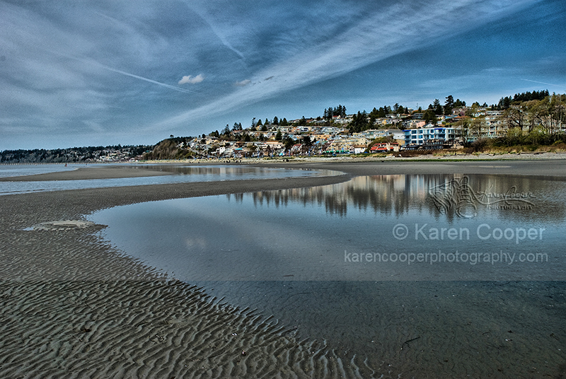 """""""White Rock Beach at Low Tide"""""""