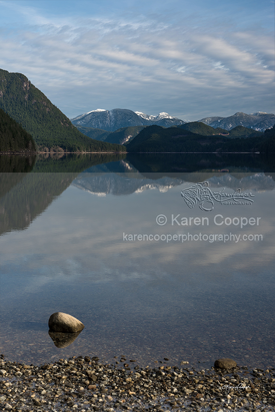 """Alouette Lake - Perfect Reflection"""