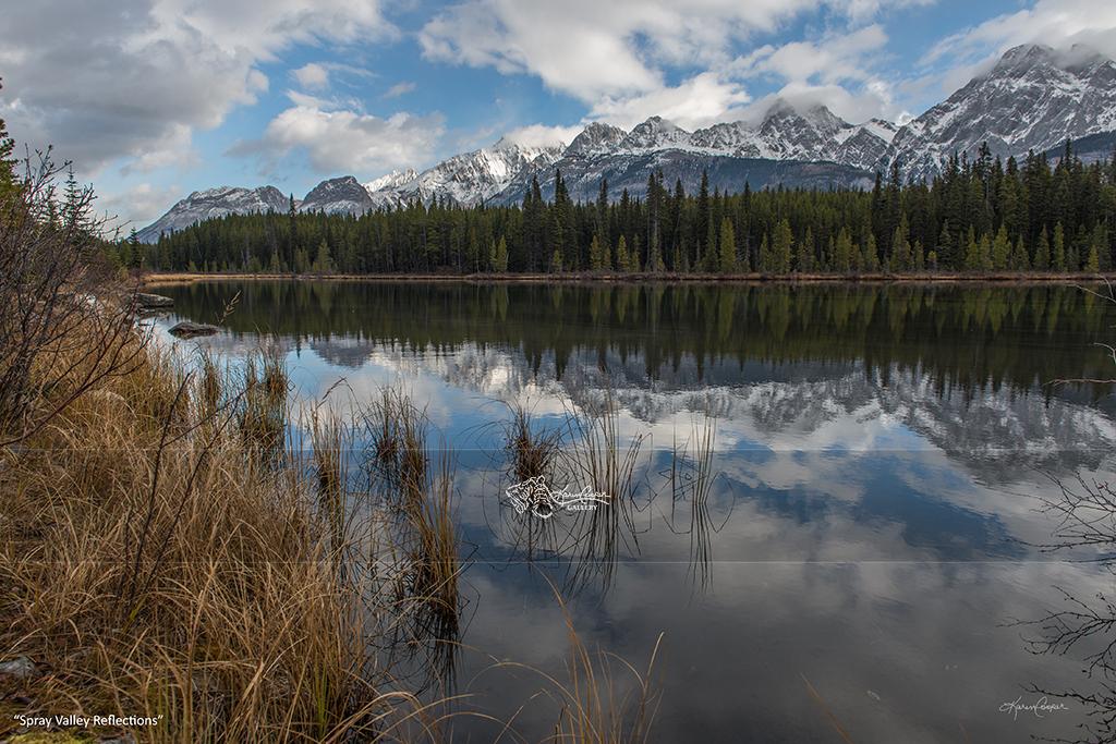 """Spray Valley Reflections"" Spray Valley Provincial Park"