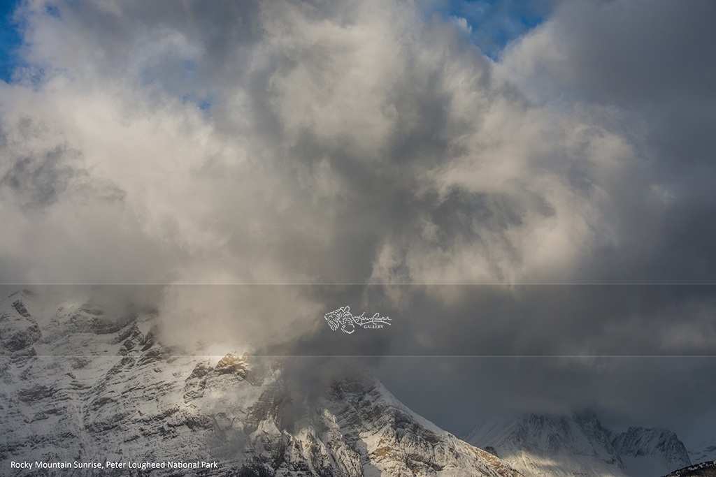 """Rocky Mountain Sunrise"" - Peter Lougheed Provincial Park"