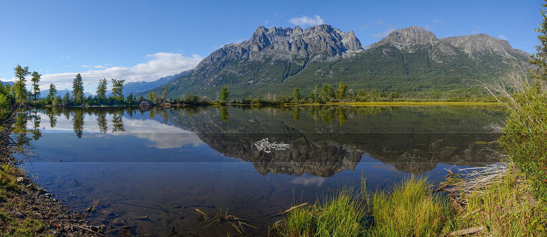 Tatlayoko Lake Reflection