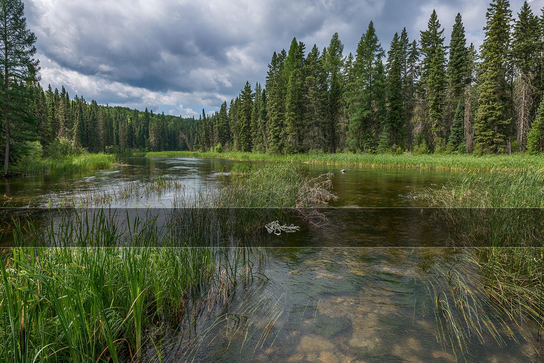 Slow River - Prince Albert National Park