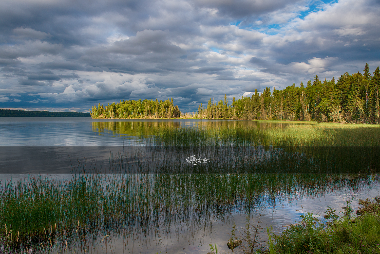 Lake Waskesui, Prince Albert National Park